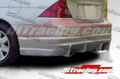 AIT Racing - Honda Civic 2DR AIT Racing BC Style Rear Bumper - HC01HIBCSRB2