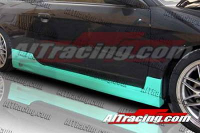 AIT Racing - Honda Civic 2DR AIT Racing BC Style Side Skirts - HC01HIBCSSS2