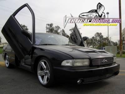 Vertical Doors Inc - Chevrolet Impala VDI Vertical Lambo Door Hinge Kit - Direct Bolt On - VDCCHEVYCIMP9196