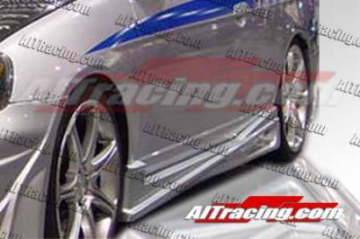 AIT Racing - Honda Civic 2DR AIT Racing BMX Style Side Skirts - HC01HIBMXSS2