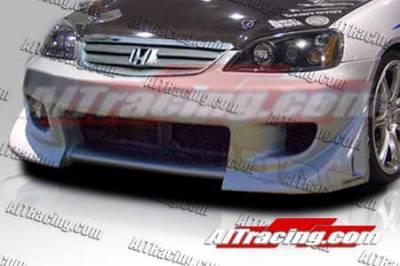 AIT Racing - Honda Civic AIT Racing BZ Style Front Bumper - HC01HIBZSFB