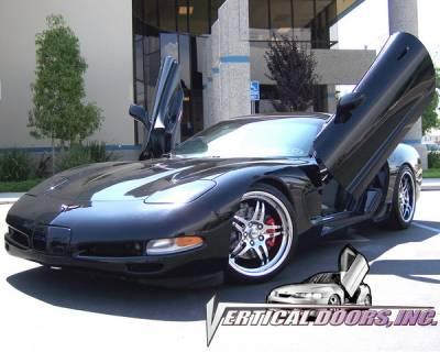 Vertical Doors Inc - Chevrolet Corvette VDI Vertical Lambo Door Hinge Kit - Direct Bolt On - VDCCHEVYCOR9704