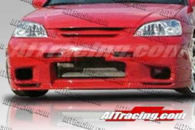 AIT Racing - Honda Civic AIT Racing R33 Style Front Bumper - HC01HIR33FB