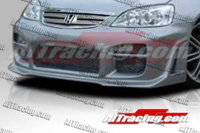 AIT Racing - Honda Civic AIT Racing R34 Style Front Bumper - HC01HIR34FB