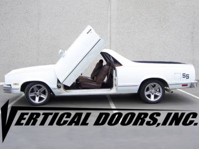 Vertical Doors Inc - Chevrolet El Camino VDI Vertical Lambo Door Hinge Kit - Direct Bolt On - VDCCHEVYEL7887