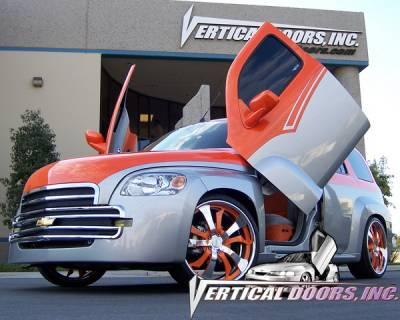 Vertical Doors Inc - Chevrolet HHR VDI Vertical Lambo Door Hinge Kit - Direct Bolt On - VDCCHEVYHHR06-UP