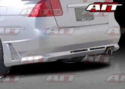 AIT Racing - Honda Civic 4DR AIT R34 Style Rear Bumper - HC01HIR34RB4