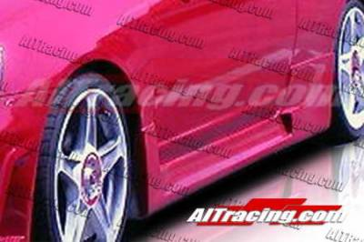 AIT Racing - Honda Civic 2DR AIT Racing R34 Style Side Skirts - HC01HIR34SS2