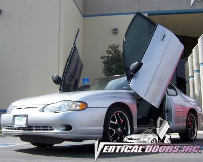 Vertical Doors Inc - Chevrolet Monte Carlo VDI Vertical Lambo Door Hinge Kit - Direct Bolt On - VDCCHEVYMC0007