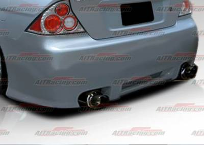 AIT Racing - Honda Civic 2DR AIT Racing REV Style Rear Bumper - HC01HIREVRB2