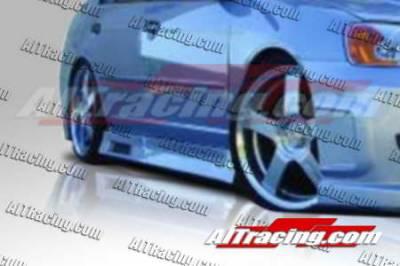AIT Racing - Honda Civic 2DR AIT Racing Revolution Style Side Skirts - HC01HIREVSS2