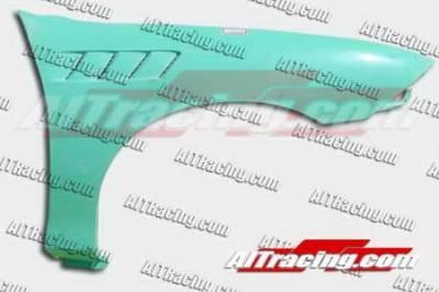 AIT Racing - Honda Civic 2DR AIT Racing Z3 Style Front Fenders - HC01HIZ3F
