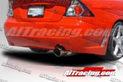 AIT Racing - Honda Civic 2DR AIT Racing Zen Style Rear Bumper - HC01HIZENRB2