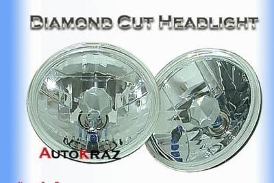 Custom - Diamond Cut HID Headlights