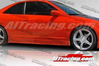 AIT Racing - Honda Civic 4DR AIT Racing Zen Style Side Skirts - HC01HIZENSS4