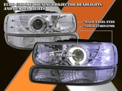 Custom - Chrome LED Pro Headligts