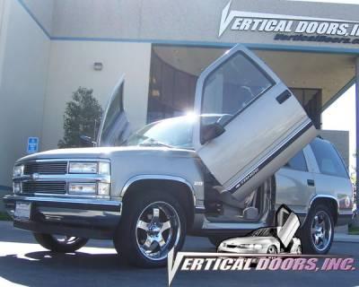 Vertical Doors Inc - Chevrolet Tahoe VDI Vertical Lambo Door Hinge Kit - Direct Bolt On - VDCCHEVYTAHOE0006