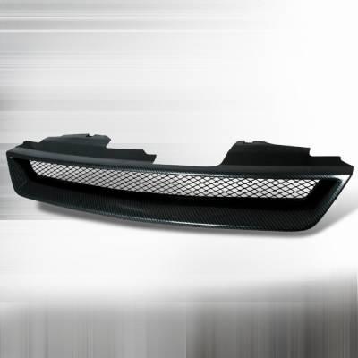 Custom Disco - Honda Accord Custom Disco Black Front Hood Grille - HG-ACD94CFTR