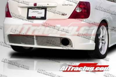 AIT Racing - Honda Civic AIT Racing BCN1 Style Rear Bumper - HC03HIBCN1RB