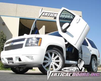 Vertical Doors Inc - Chevrolet Tahoe VDI Vertical Lambo Door Hinge Kit - Direct Bolt On - VDCCHEVYTAHOE07