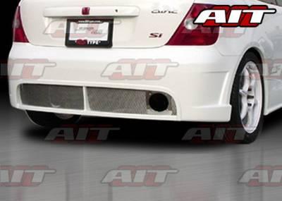 AIT Racing - Honda Civic 4DR AIT Racing BCN1 Style Rear Bumper - HC03HIBCN1RB3