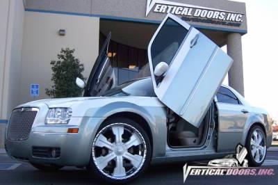 Vertical Doors Inc - Chrysler 300 VDI Vertical Lambo Door Hinge Kit - Direct Bolt On - VDCCRY3000409