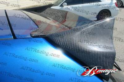 AIT Racing - Honda Civic 4DR AIT Racing BCN1 Style Rear Roof Wing - HC03HIBCN1RW3
