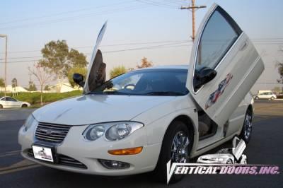 Vertical Doors Inc - Chrysler 300 VDI Vertical Lambo Door Hinge Kit - Direct Bolt On - VDCCRY300M9904