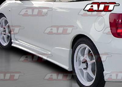 AIT Racing - Honda Civic 4DR AIT Racing BCN1 Style Side Skirts - HC03HIBCN1SS3