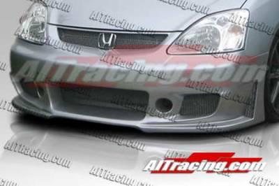 AIT Racing - Honda Civic AIT Racing Zen Style Front Bumper - HC03HIZENFB
