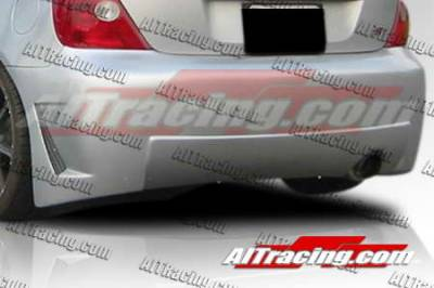 AIT Racing - Honda Civic AIT Racing Zen Style Rear Bumper - HC03HIZENRB
