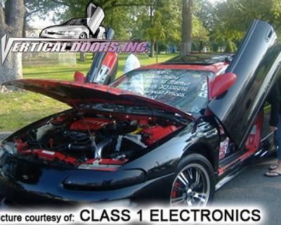 Vertical Doors Inc - Chrysler Sebring VDI Vertical Lambo Door Hinge Kit - Direct Bolt On - VDCCRYSEB9500