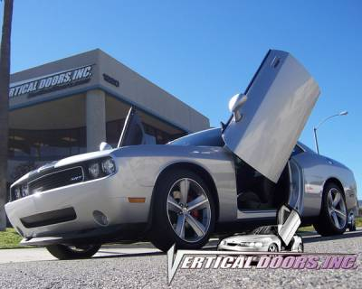 Vertical Doors Inc - Dodge Challenger VDI Vertical Lambo Door Hinge Kit - Direct Bolt On - VDCDCHAL08