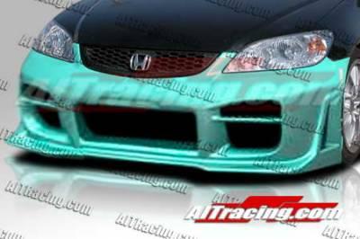 AIT Racing - Honda Civic AIT Racing R34 Style Front Bumper - HC04HIR34FB