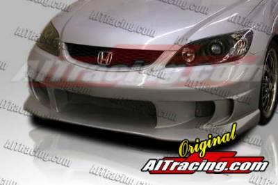 AIT Racing - Honda Civic AIT Racing Top Zone Style Front Bumper - HC04HITZSFB