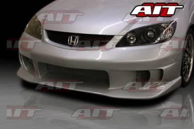 AIT Racing - Honda Civic AIT Racing Top Zone Style Front Bumper - HC04HITZSFB2