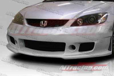 AIT Racing - Honda Civic AIT Racing Zen Style Front Bumper - HC04HIZENFB