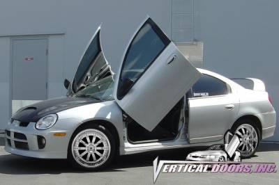 Vertical Doors Inc - Dodge Neon VDI Vertical Lambo Door Hinge Kit - Direct Bolt On - VDCDN0006