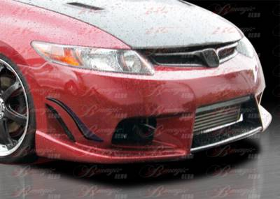 AIT Racing - Honda Civic 2DR AIT Racing Ace Style B-Magic Front Bumper - HC06BMACEFB2