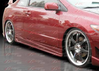 AIT Racing - Honda Civic 2DR AIT Racing Ace Style B-Magic Side Skirts - HC06BMACESS2