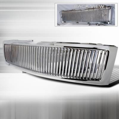 Custom Disco - Chevrolet Silverado Custom Disco Vertical Grille - HG-SIV07CVT-LH