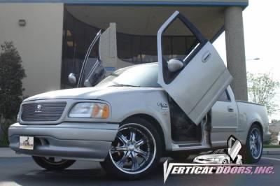 Vertical Doors Inc - Ford F150 VDI Vertical Lambo Door Hinge Kit - Direct Bolt On - VDCF1509703