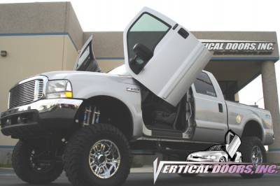 Vertical Doors Inc - Ford F350 Superduty VDI Vertical Lambo Door Hinge Kit - Direct Bolt On - VDCF3509908