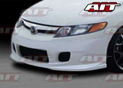 AIT Racing - Honda Civic 4DR AIT I-Spec Style Front Bumper - HC06HIINGFB4