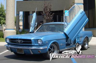 Vertical Doors Inc - Ford Mustang VDI Vertical Lambo Door Hinge Kit - Direct Bolt On - VDCFM6768