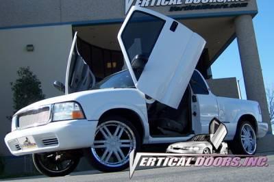 Vertical Doors Inc - GMC Sonoma VDI Vertical Lambo Door Hinge Kit - Direct Bolt On - VDCGMCSON9404
