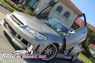Vertical Doors Inc - Honda Accord 4DR VDI Vertical Lambo Door Hinge Kit - Direct Bolt On - VDCHA98024D
