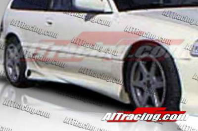 AIT Racing - Honda Civic HB AIT Racing Combat Style Side Skirts - HC88HICBSSS3