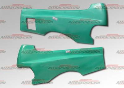 AIT Racing - Honda Civic HB AIT Racing Feels Style Wide Rear Quarter Panels - HC88HIFLSRF3