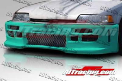 AIT Racing - Honda Civic 4DR AIT Racing Revolution Style Front Bumper - HC88HIREVFB4